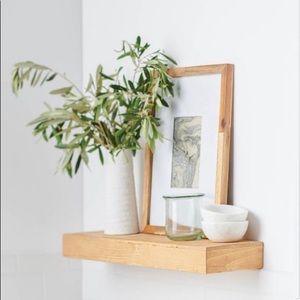 (1 of 2) Threshold Pine Floating Shelf
